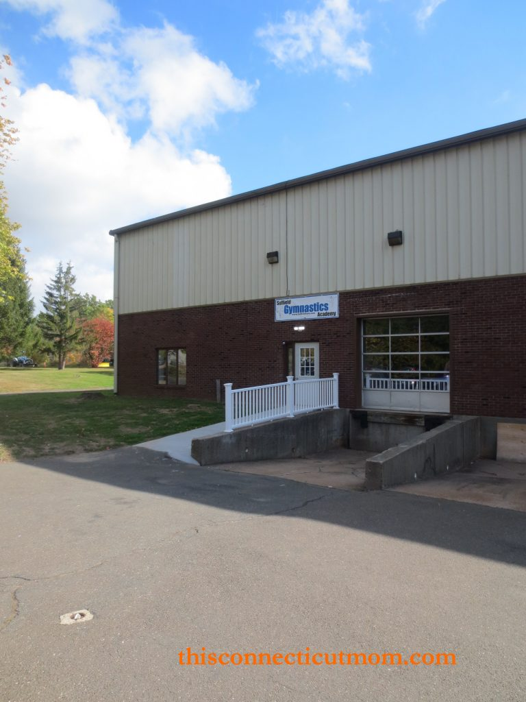 Suffield Gym- Entrance