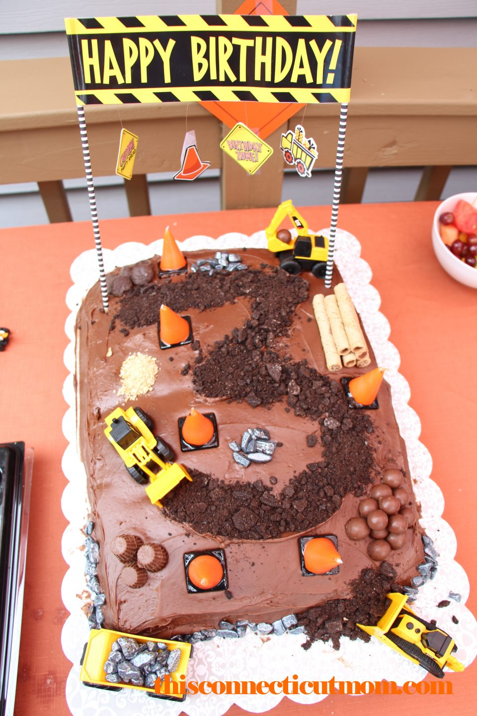Construction Themed Birthday Party