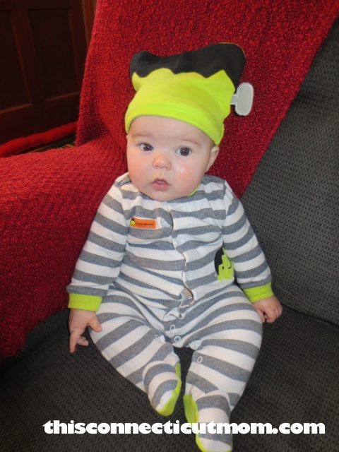 ... we were able to dress him up in it for his daycare Halloween party. You can always find cute baby pajamas at any store u2013 but we love Target and Kohlu0027s.  sc 1 st  This Connecticut Mom & Halloween Costume Ideas for Babies and Toddlers